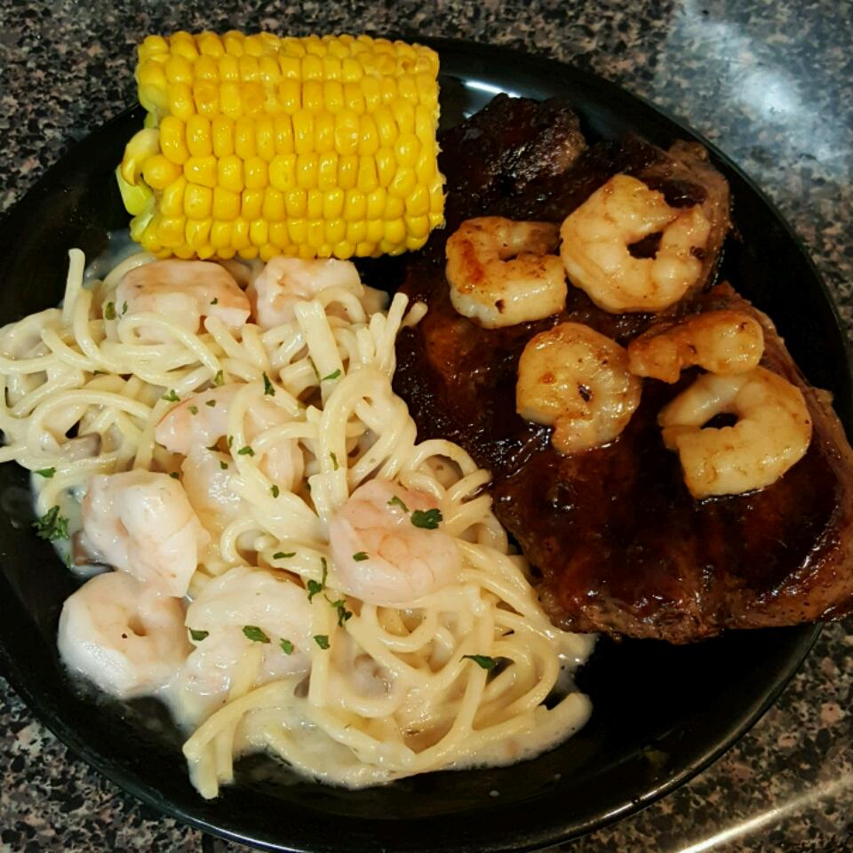 Shrimp Alfredo Pasta Kim Johnson