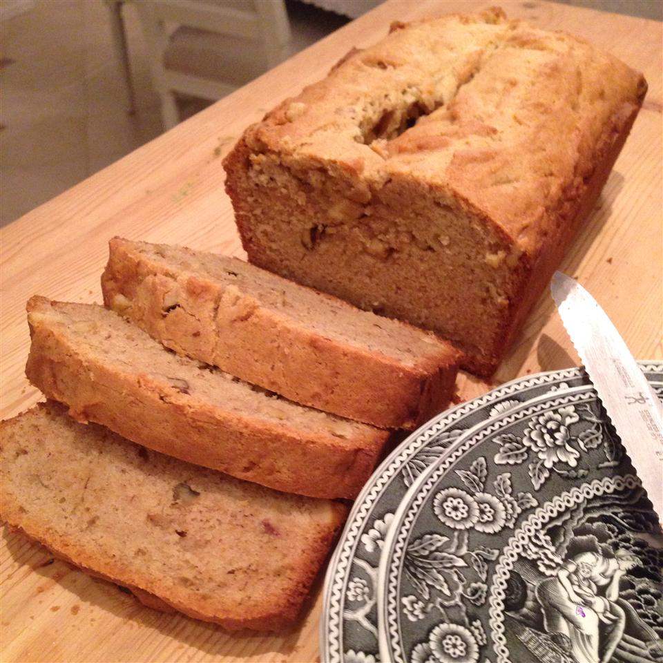 Banana Peanut Butter Bread Lisa Carrino Benic