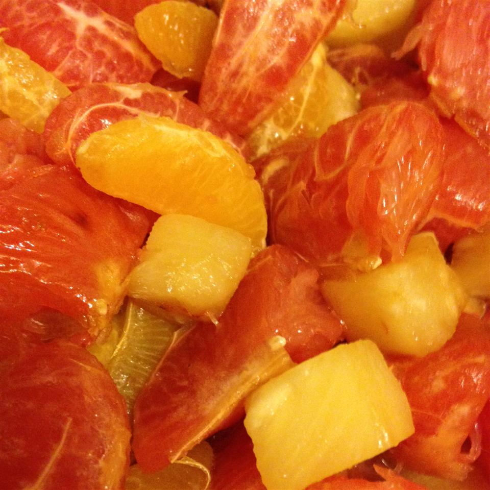 Warm Winter Citrus Dessert Dana
