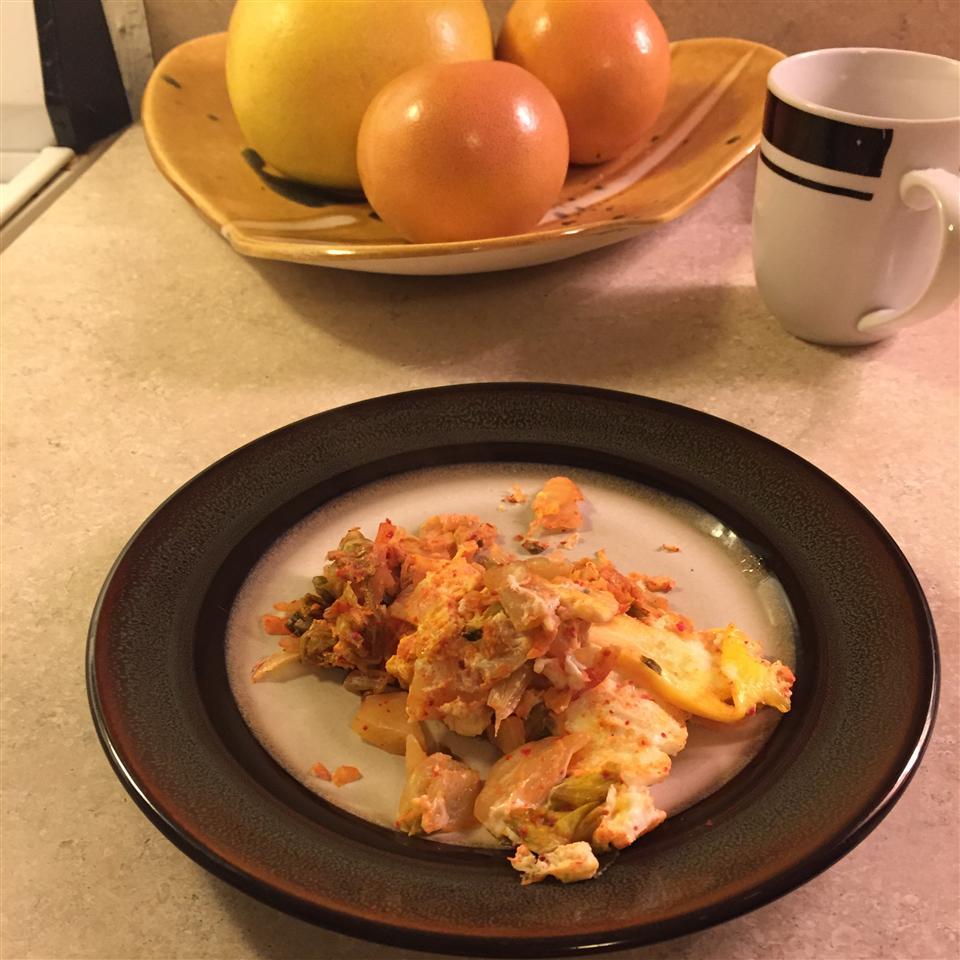 Mom's Kimchi Egg
