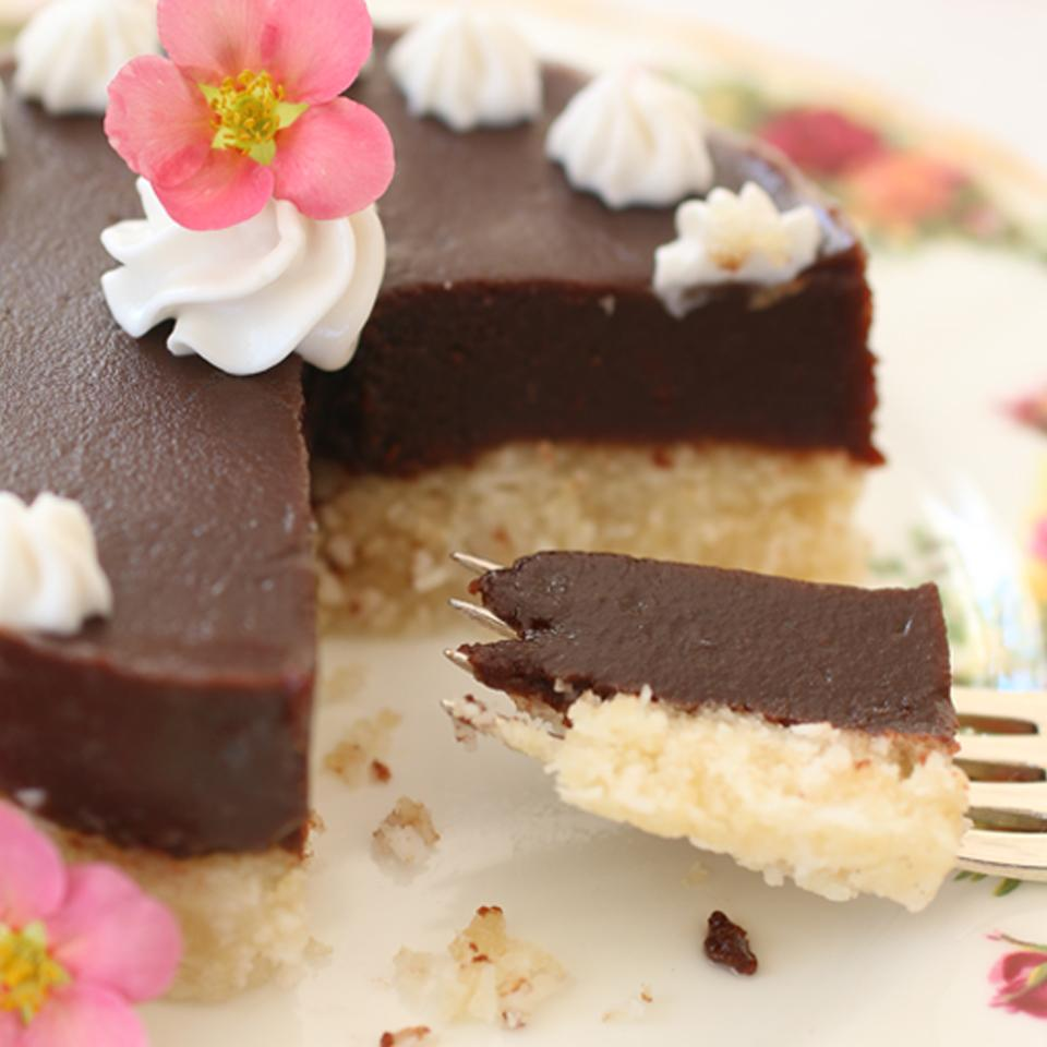 Gluten-Free Chocolate Cake with Coconut