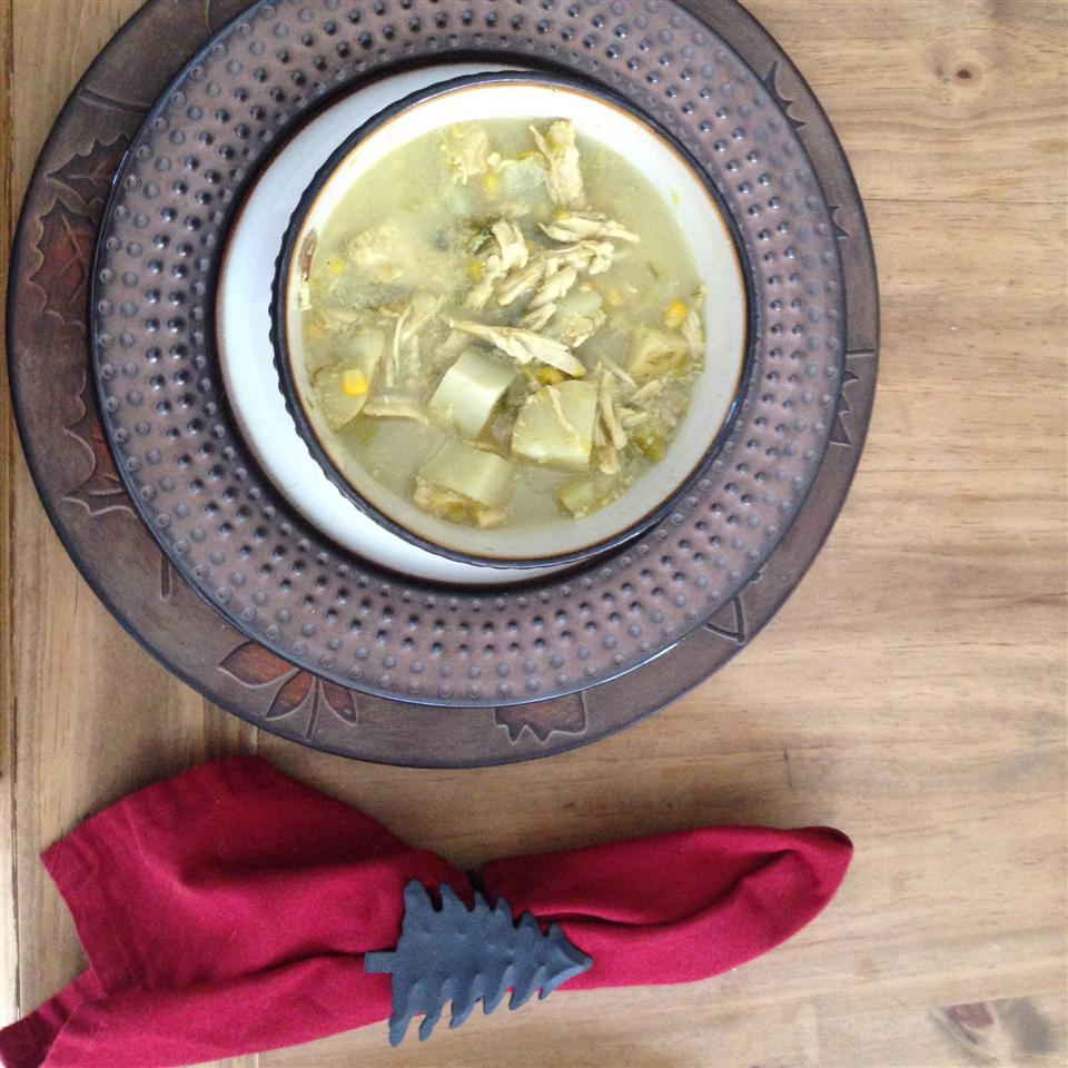 Leek and Potato Soup with Shrimp Taylor Fisher