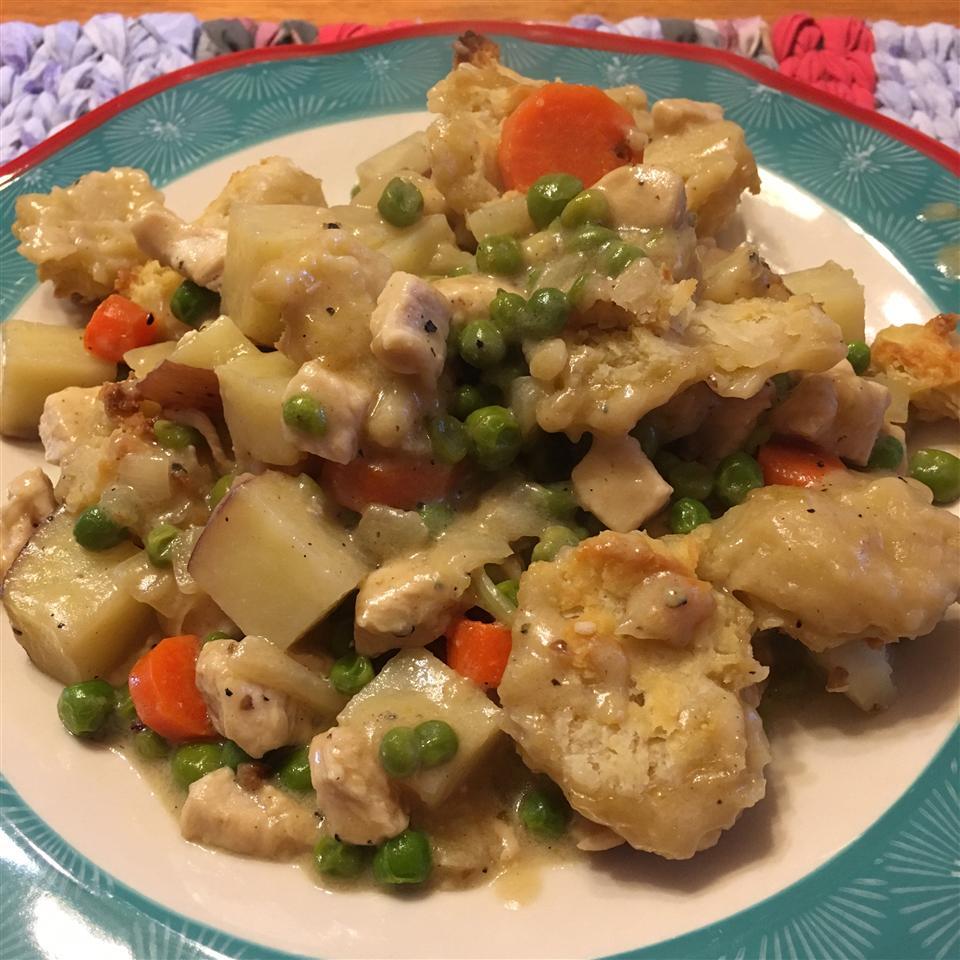 Chicken Biscuit Pie Sharon Embry
