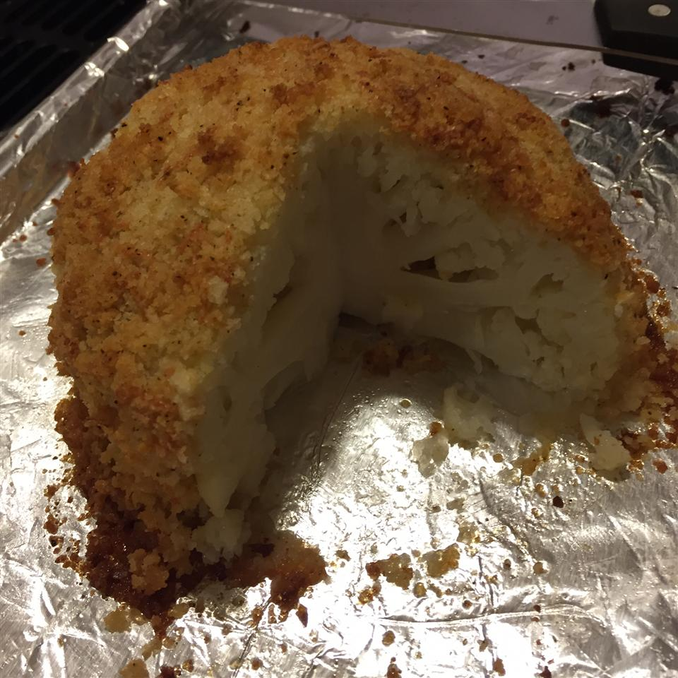 Baked Whole Cauliflower