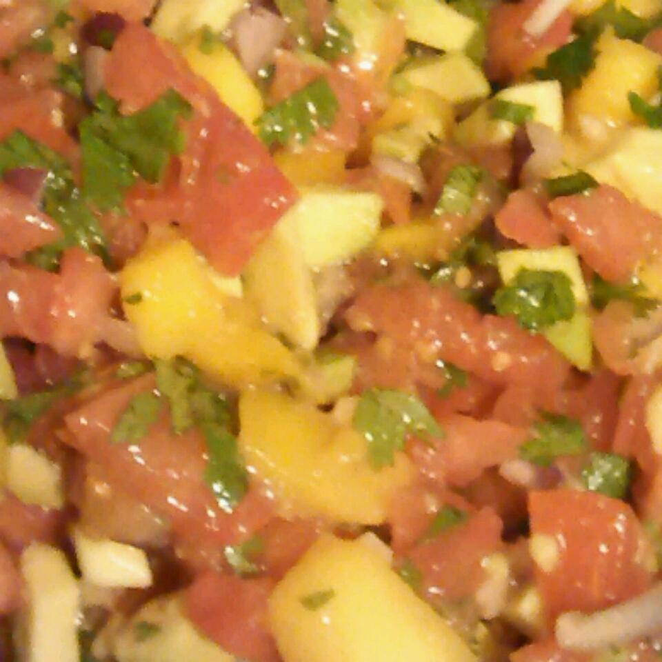 Avocado, Tomato and Mango Salsa