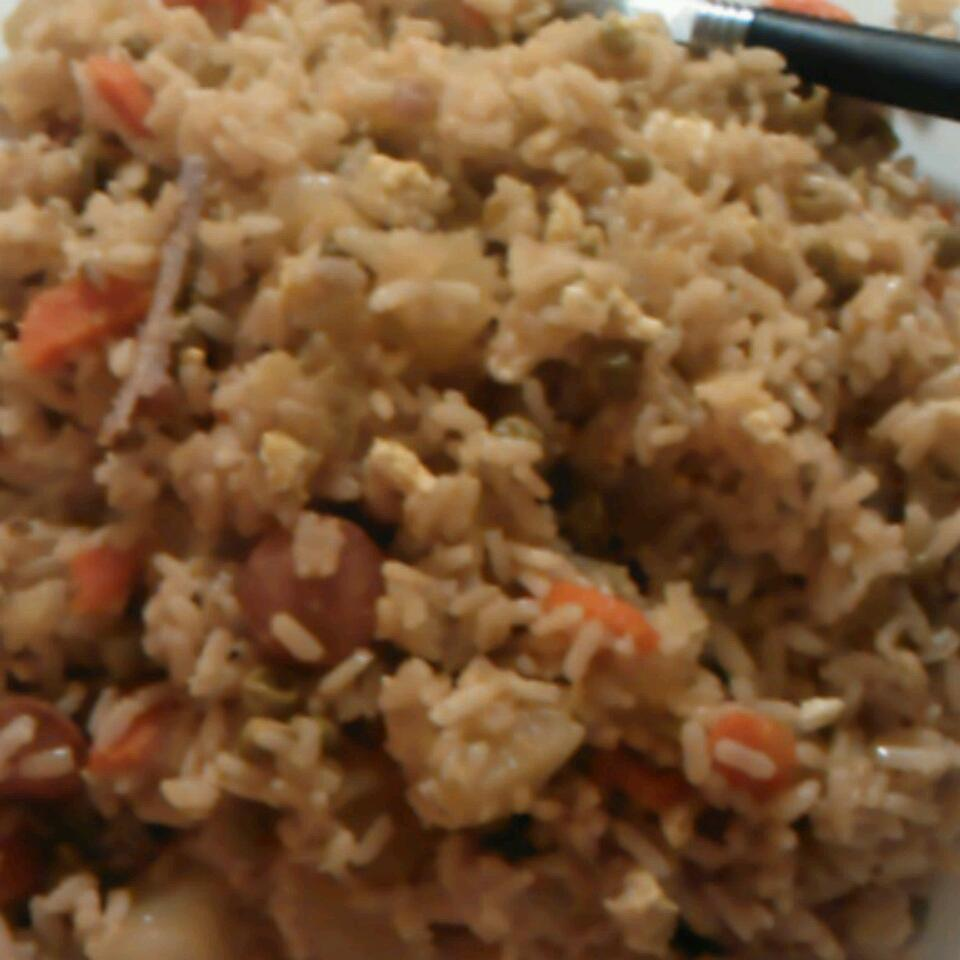Egg and Vegetable Fried Rice jay Love