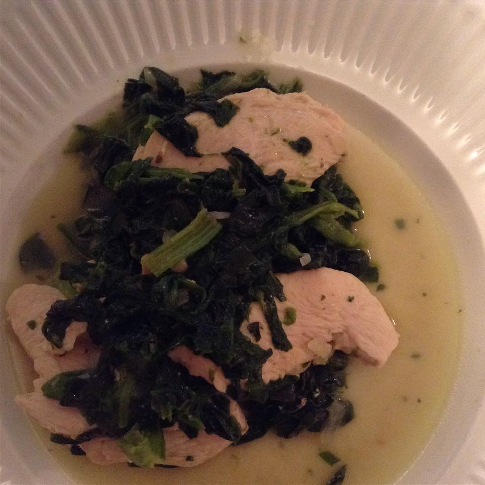 Curry-Style Chicken and Spinach JTT4203