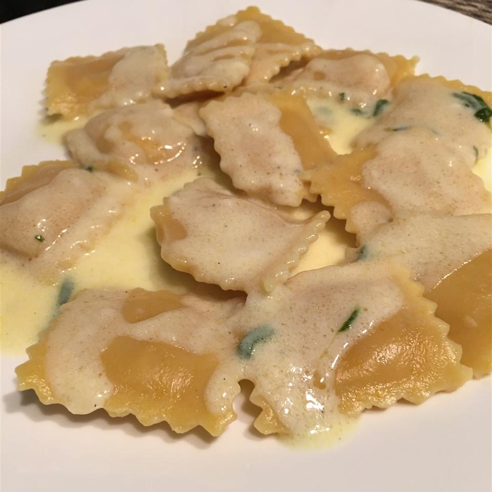 Sweet Sage Cream Sauce (without the Sage!)