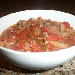 Soft Polenta with Spicy Tomato Sauce Chicago Lynn