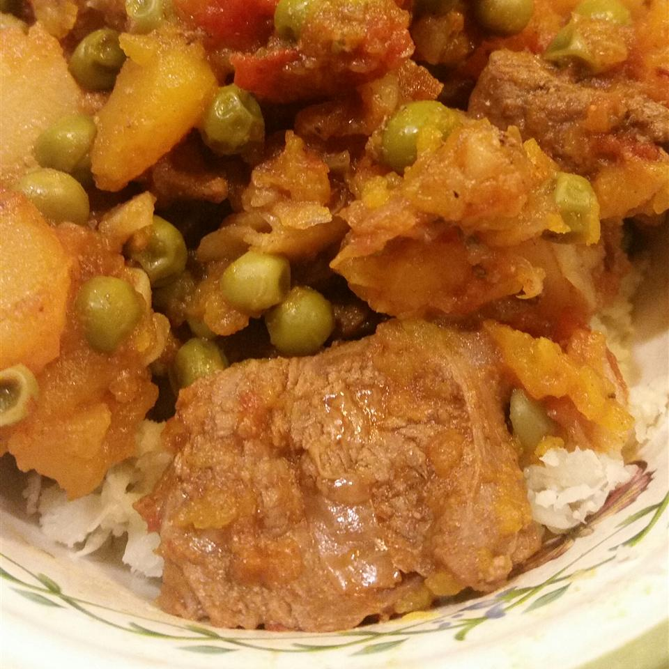 Goat and Butternut Squash Stew