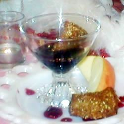 Deep Fried Camembert with Raspberry Sauce
