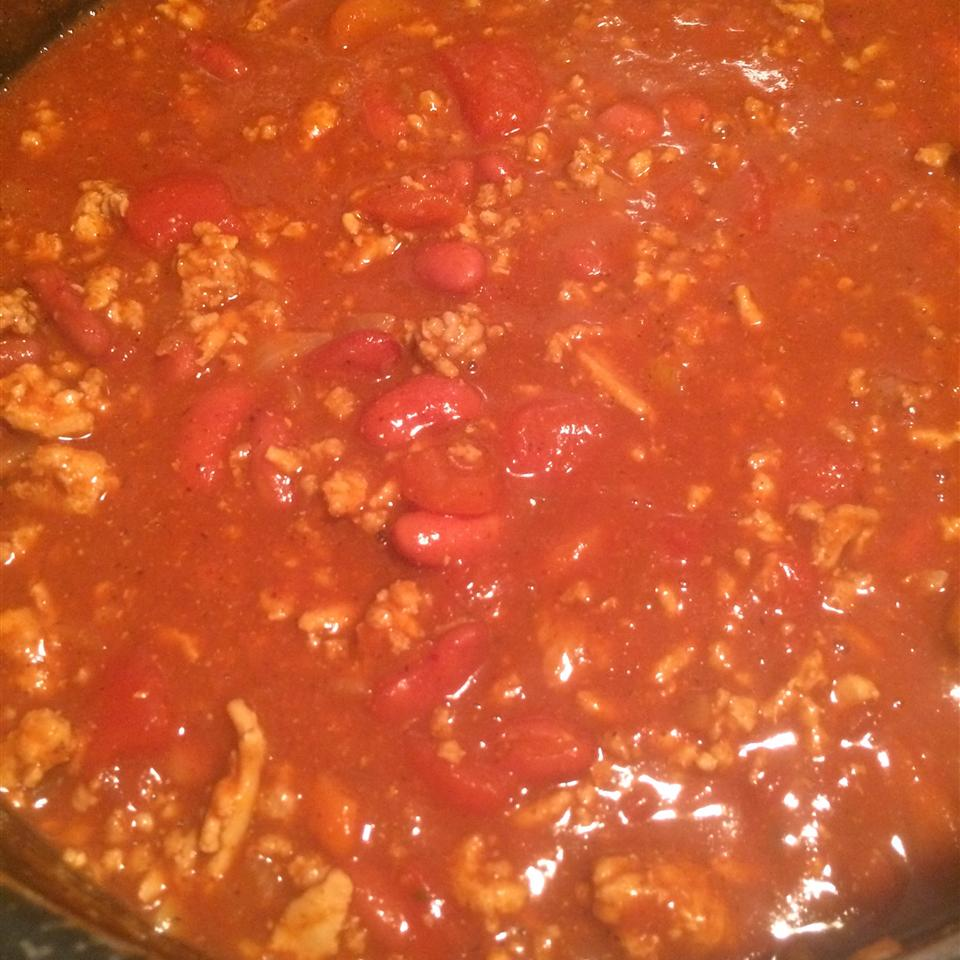 Buffalo Chicken Chili