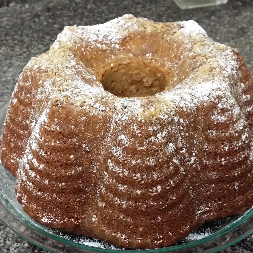 Apple Honey Bundt Cake