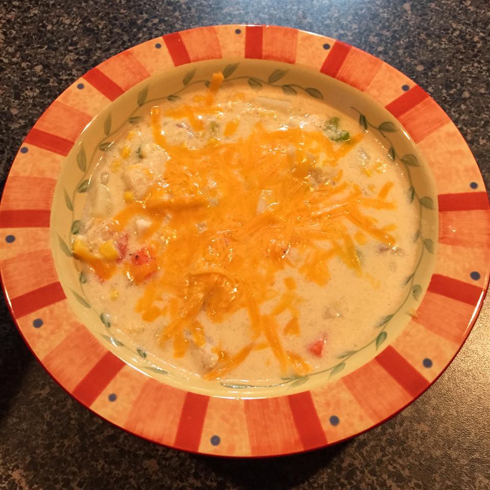 Cheesy Catfish Chowder RamseyHouse6