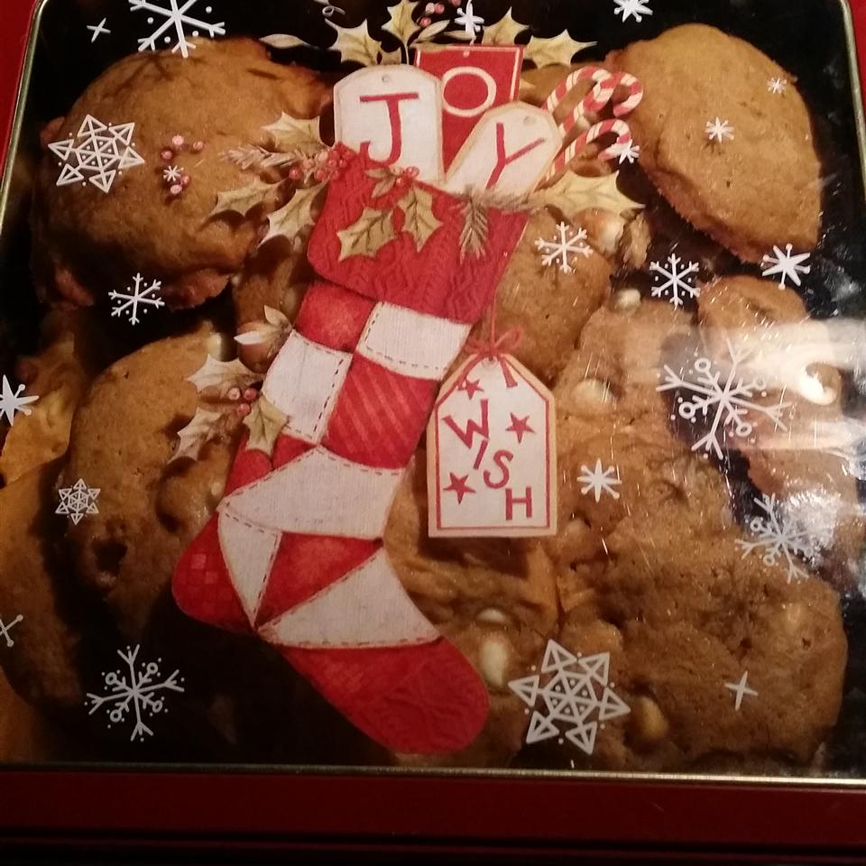 White Chocolate Pumpkin Cookies ryky069