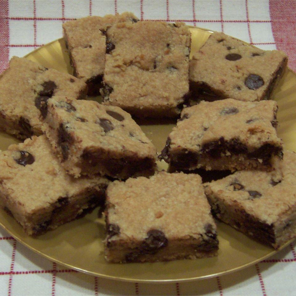 Chocolate Chip Cookie Bars ThreeChefs