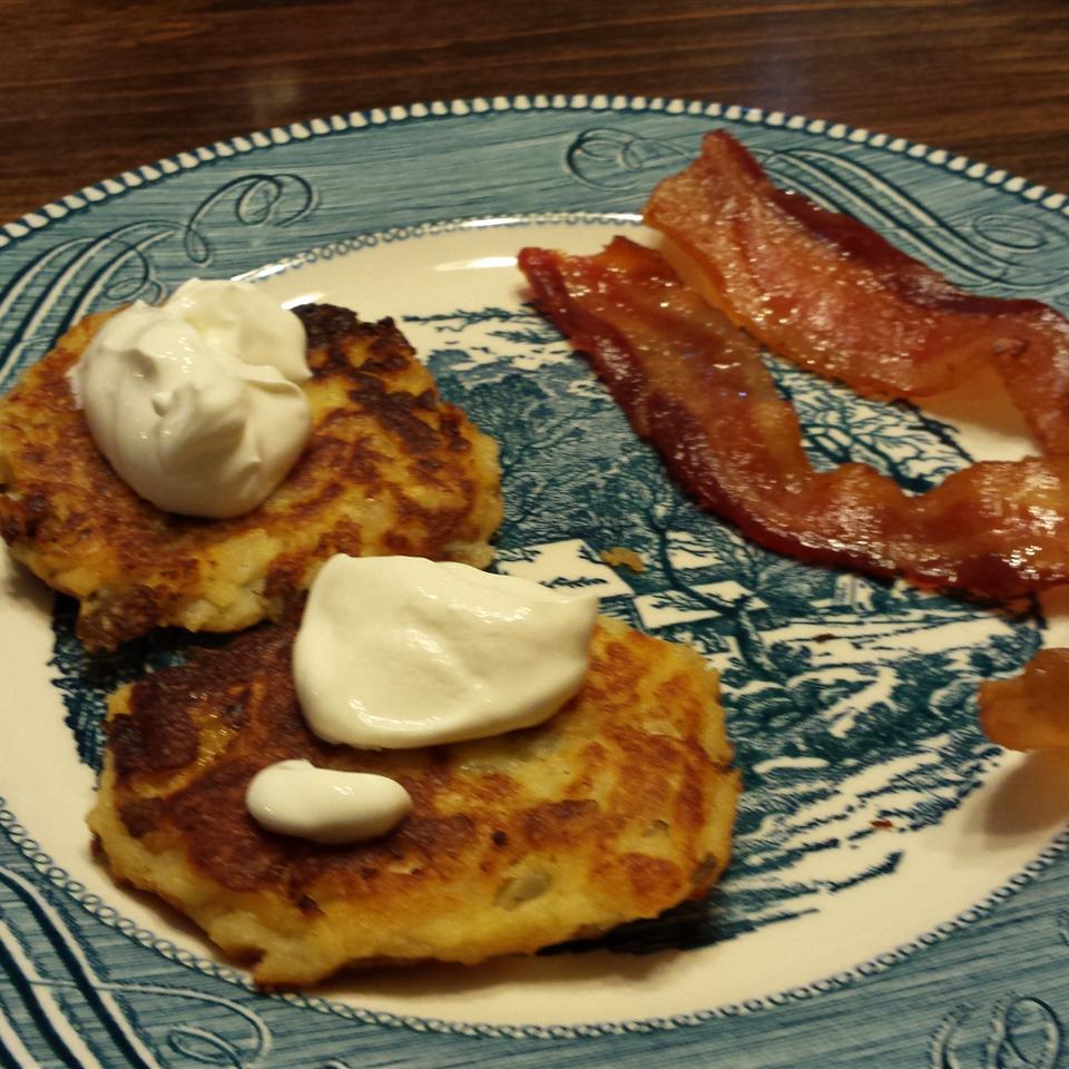 Baked Potato Latkes