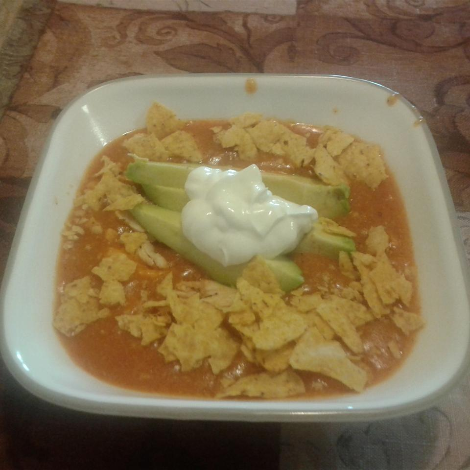 Chicken Enchilada Soup III Luisa Love