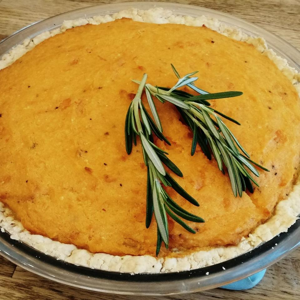 Savory Sweet Potato Pie Veronica