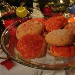 Cherry Icebox Cookies