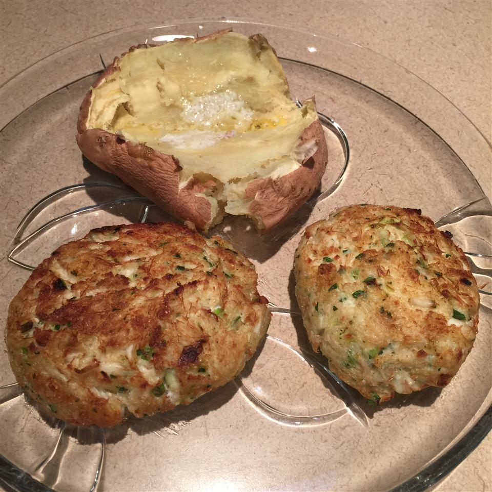 Ginger Crab Cakes Beth McCrink