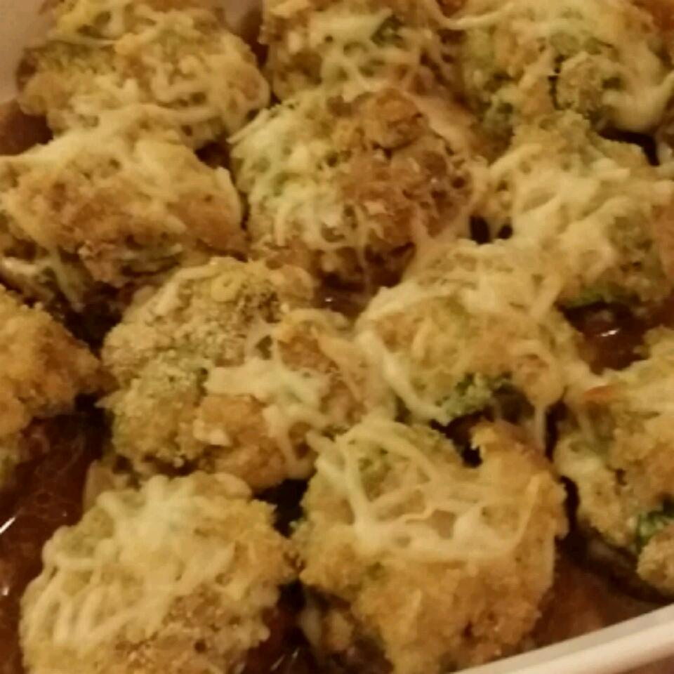 Sausage Stuffed Mushrooms II aziza hajj