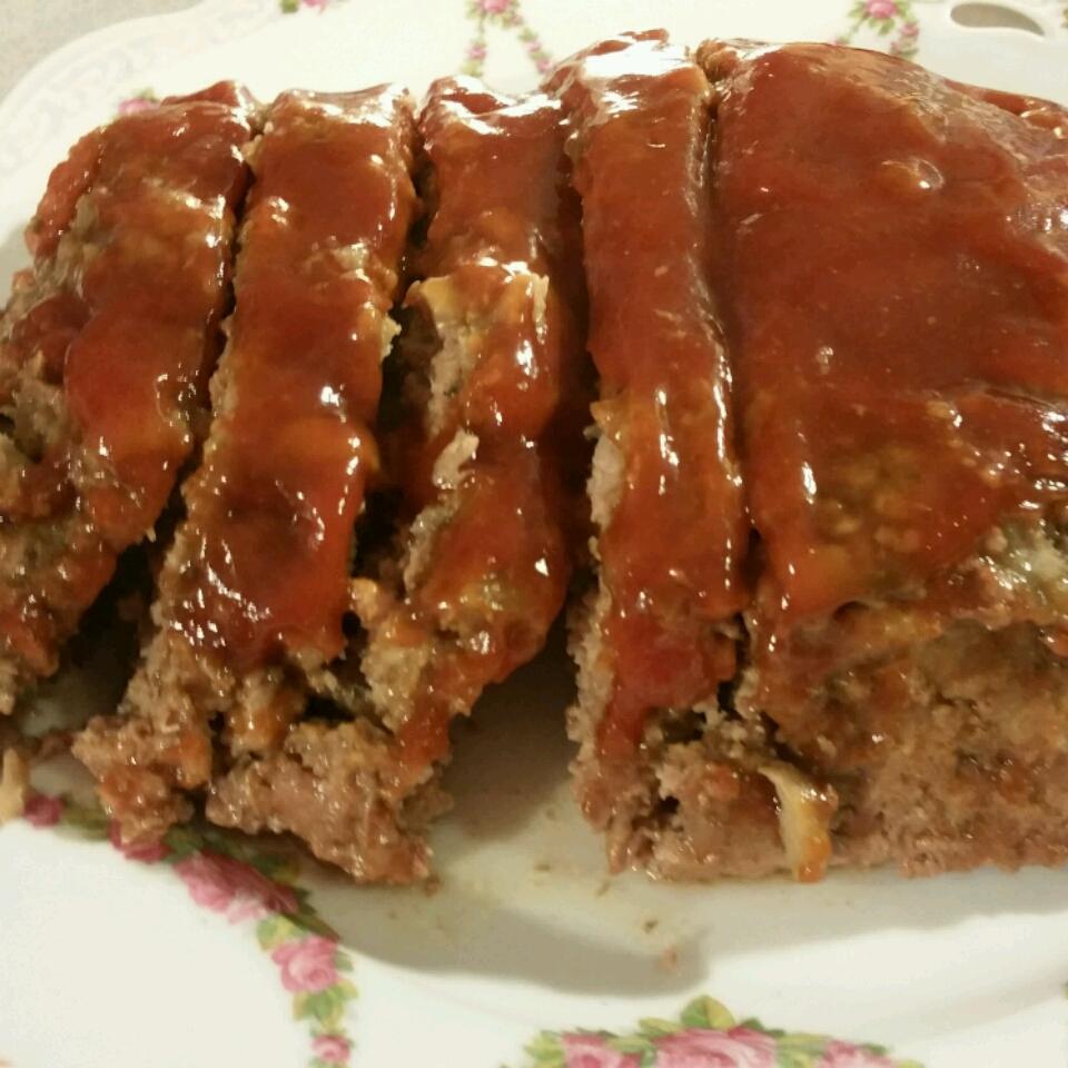 Mushroom Meatloaf with Glaze