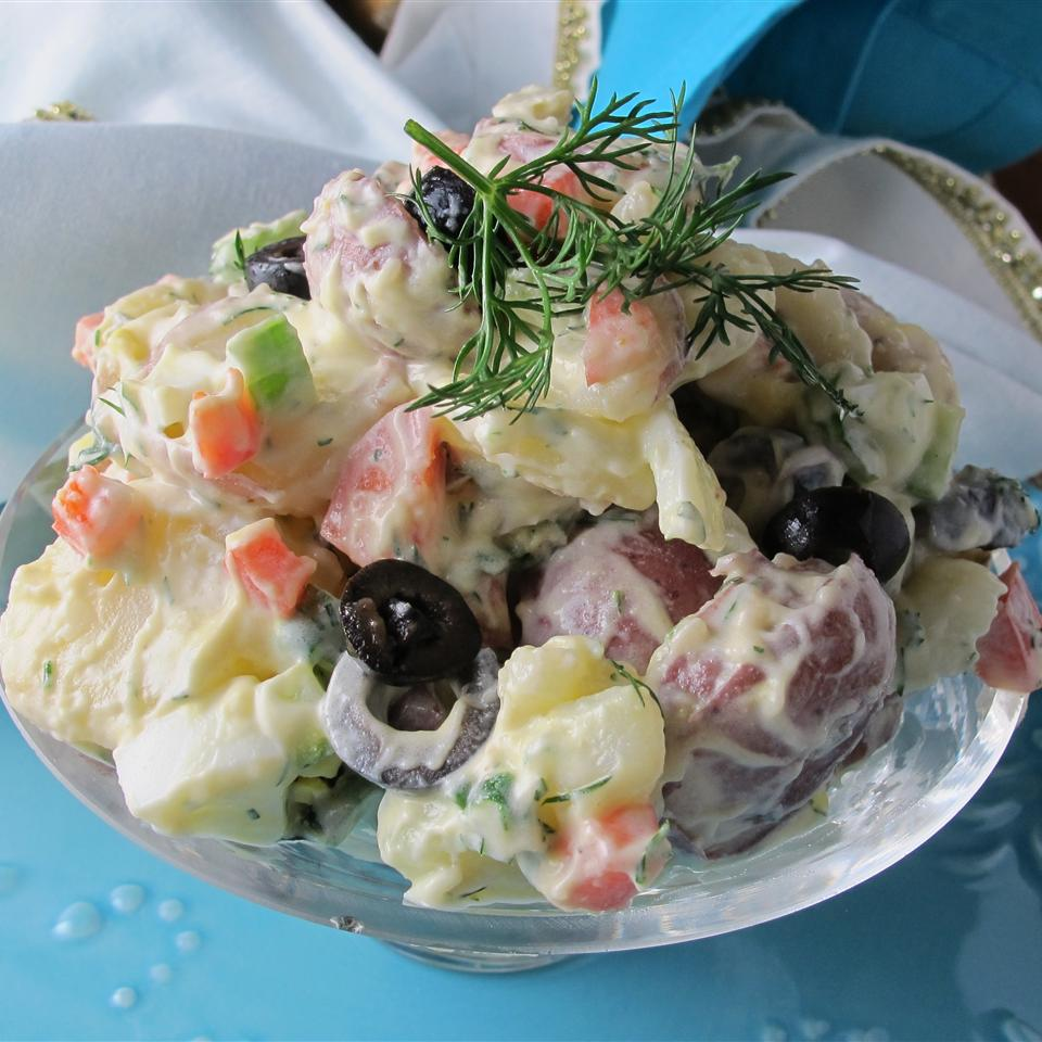 Julie's Crunchy Potato Salad