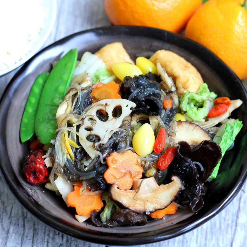 Buddha's Delight Vegan Stir-Fry