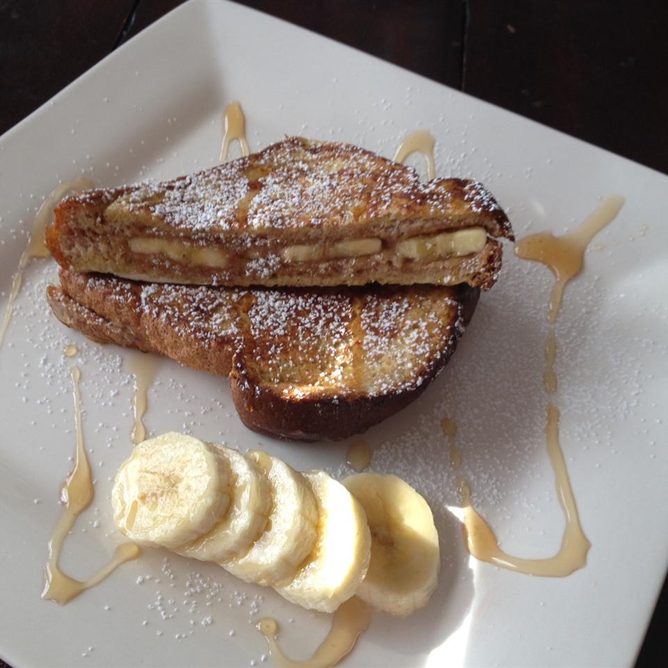 Peanut Butter and Banana French Toast Ivelisse Santana