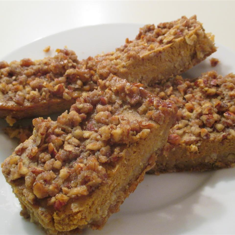 Pumpkin Pie Squares Amy