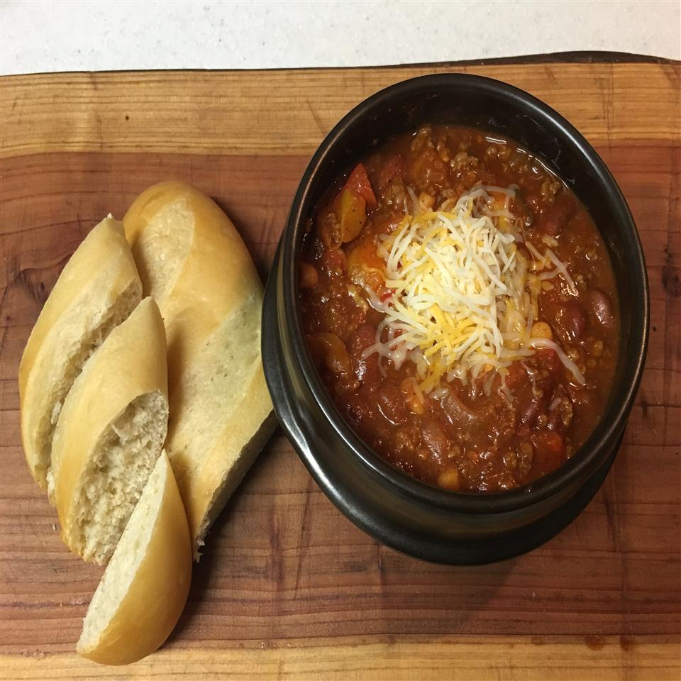 Wayne's Sweet and Spicy Beef Chili