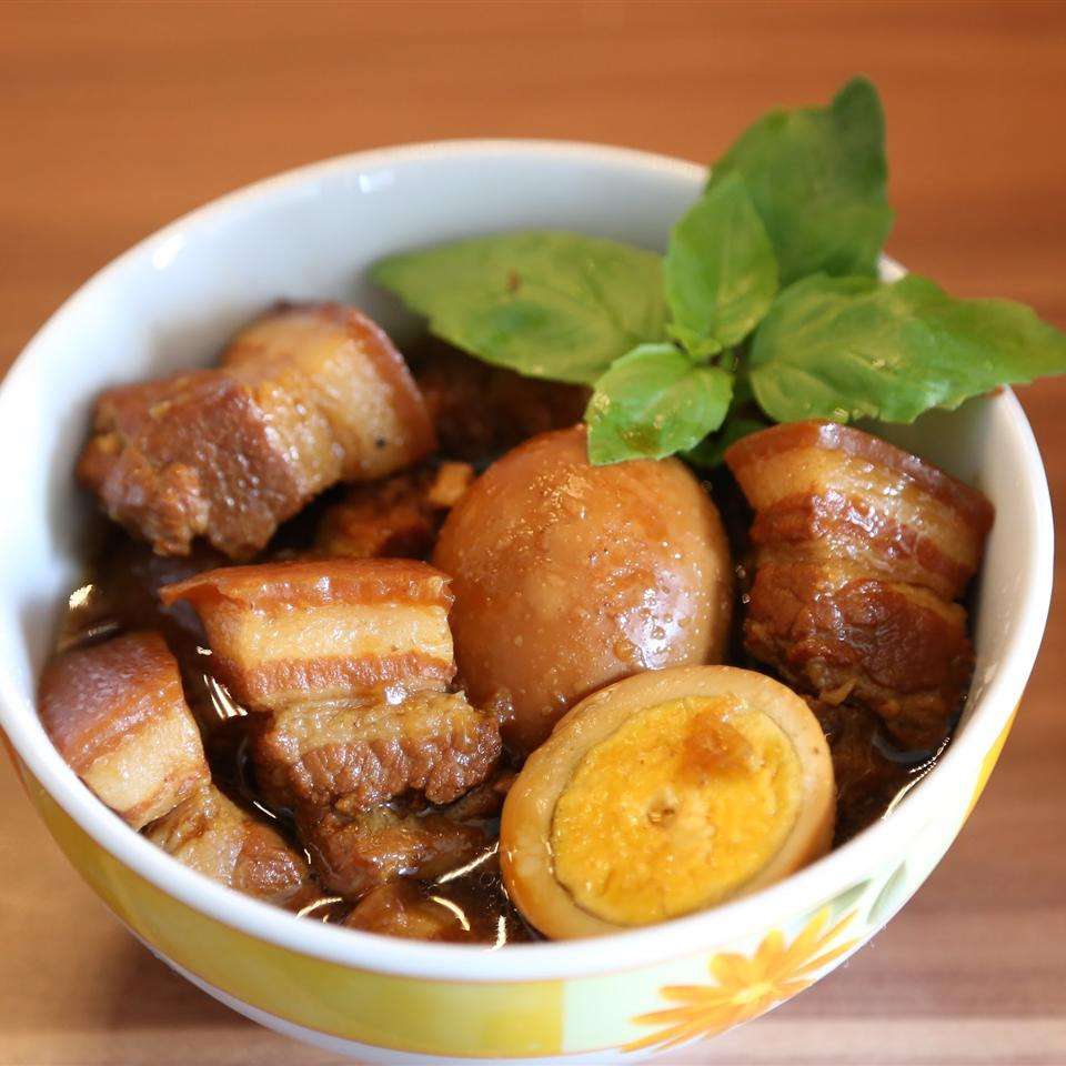 Caramelized Pork Belly (Thit Kho) Angelina Natalya Hemard