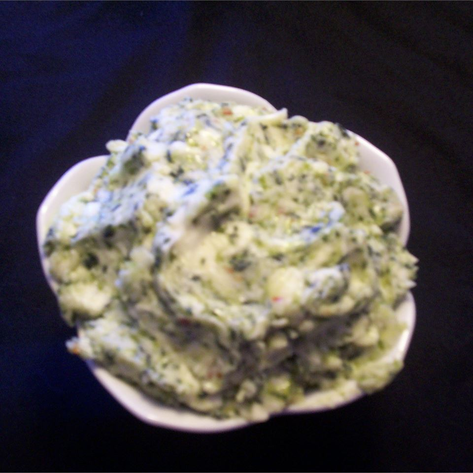 Cilantro and Lime Butter Jan's Dairy Cafe Bistro Butter