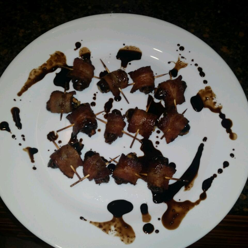 Bacon Wrapped Dates Stuffed with Blue Cheese John Rocci