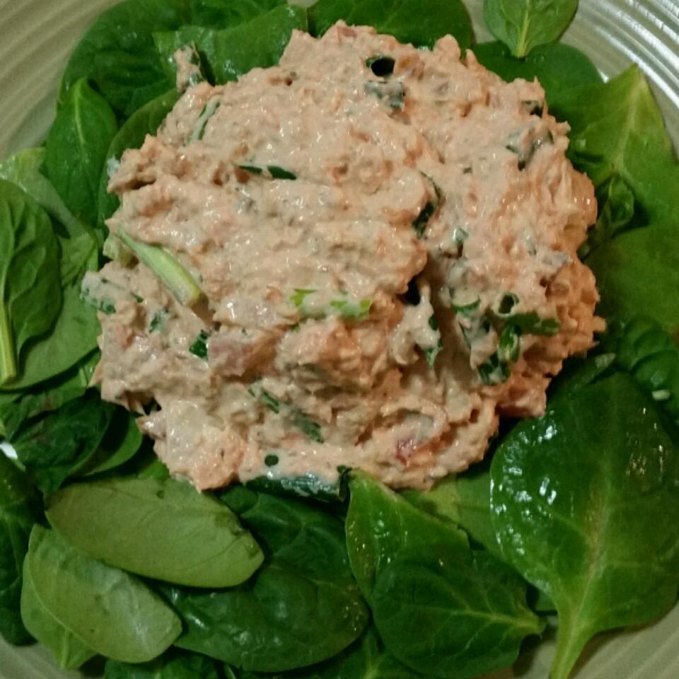 Quick Salmon Salad Lloyd
