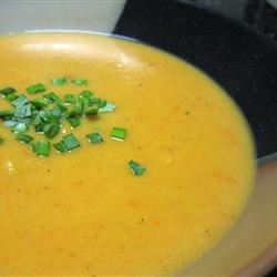 Butternut and Apple Harvest Soup mommyluvs2cook