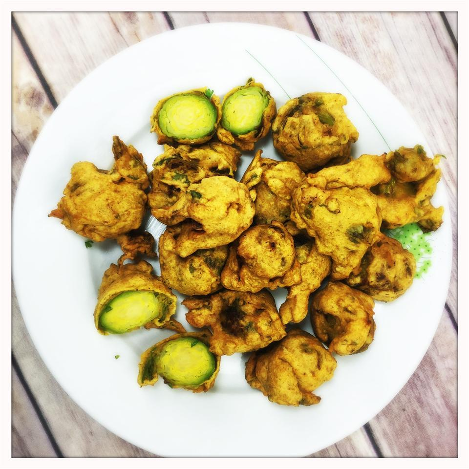 Brussels Sprout Pakora Glasgow Foodie