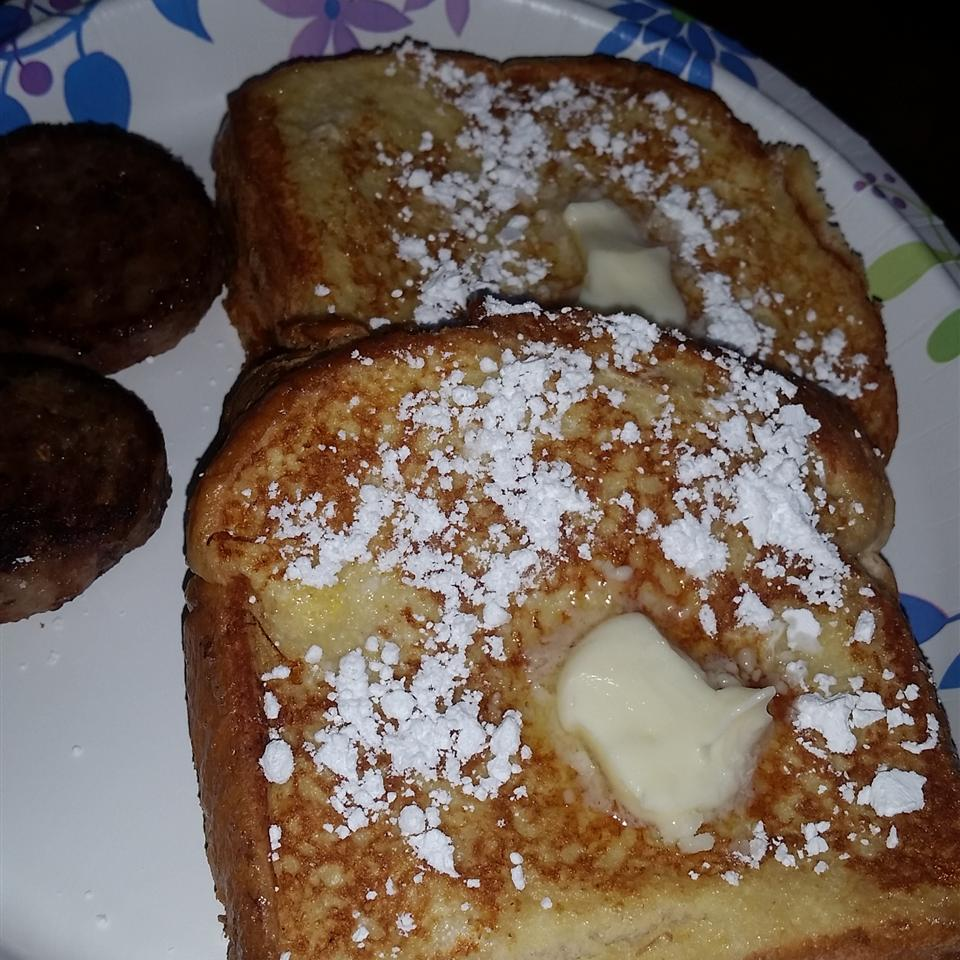 Peanut Butter and Banana French Toast Robert