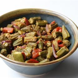 Bhindi Masala (Spicy Okra Curry) vburrito