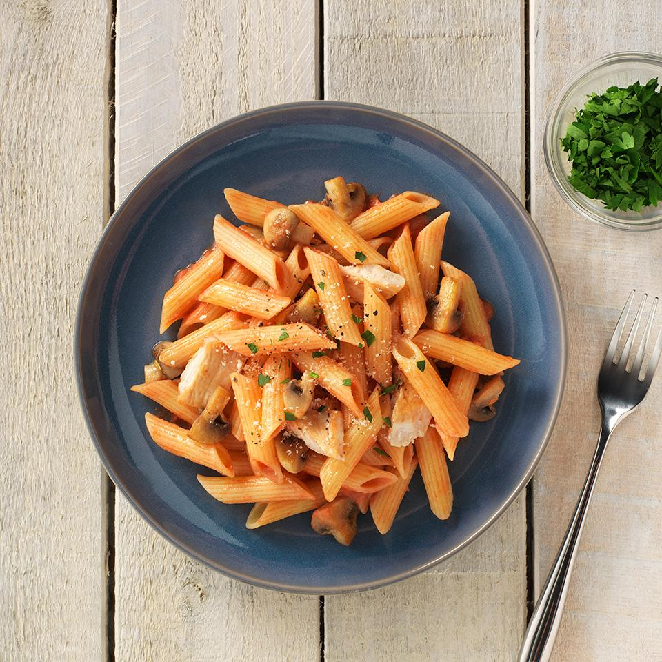 Gluten Free Penne with Chicken and Vodka Sauce Allrecipes Trusted Brands