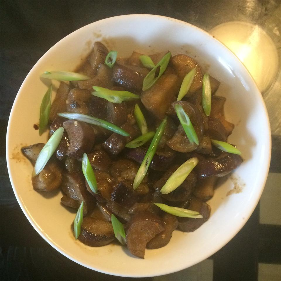 Eggplant with Garlic Sauce sila