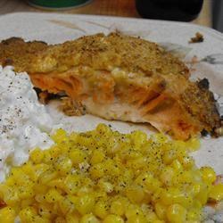 Delicious Feta-Crusted Salmon