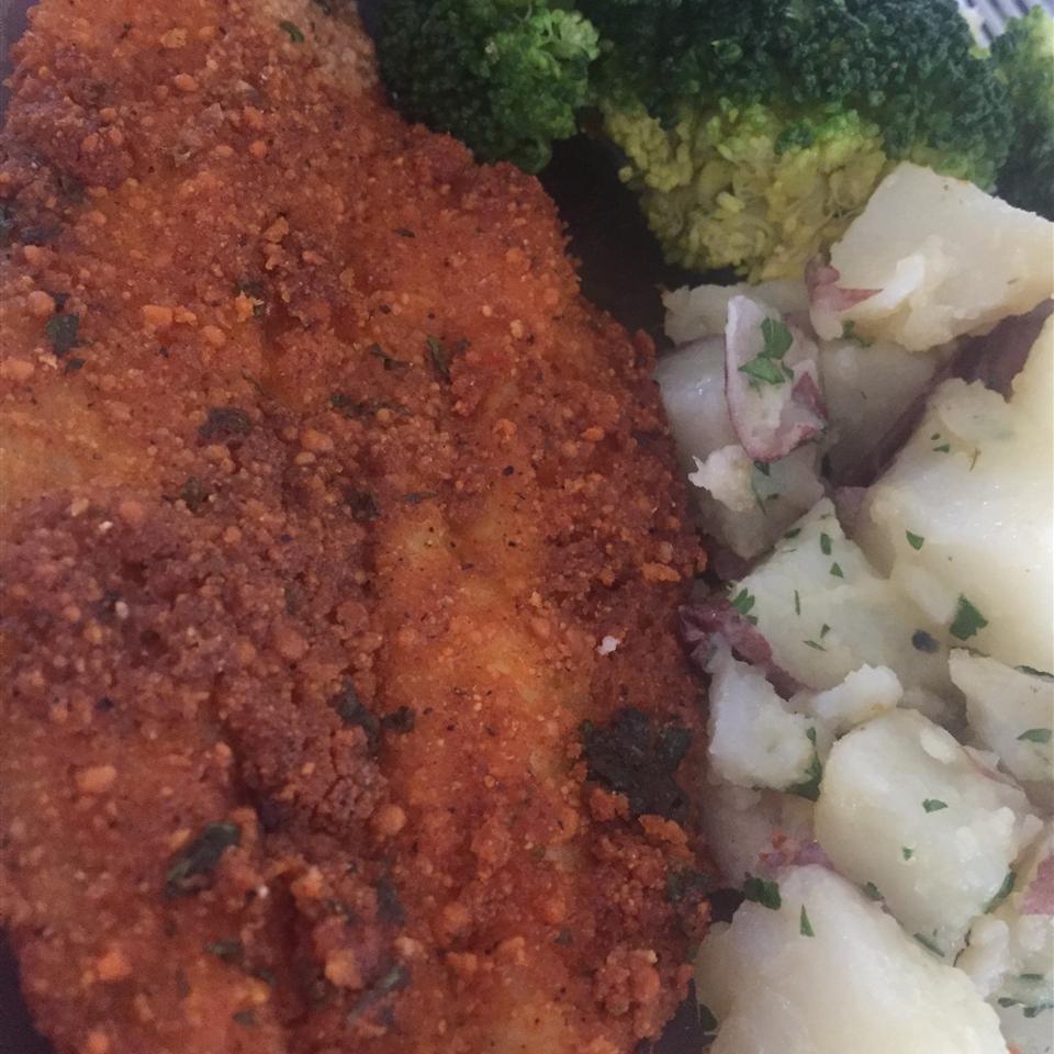 Parmesan Crusted Tilapia Fillets kalolovesleon