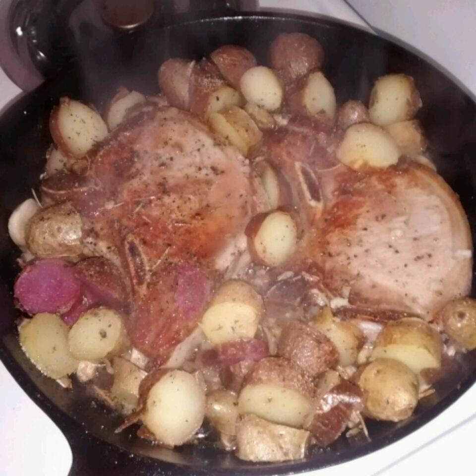 Modenese Pork Chops Diane
