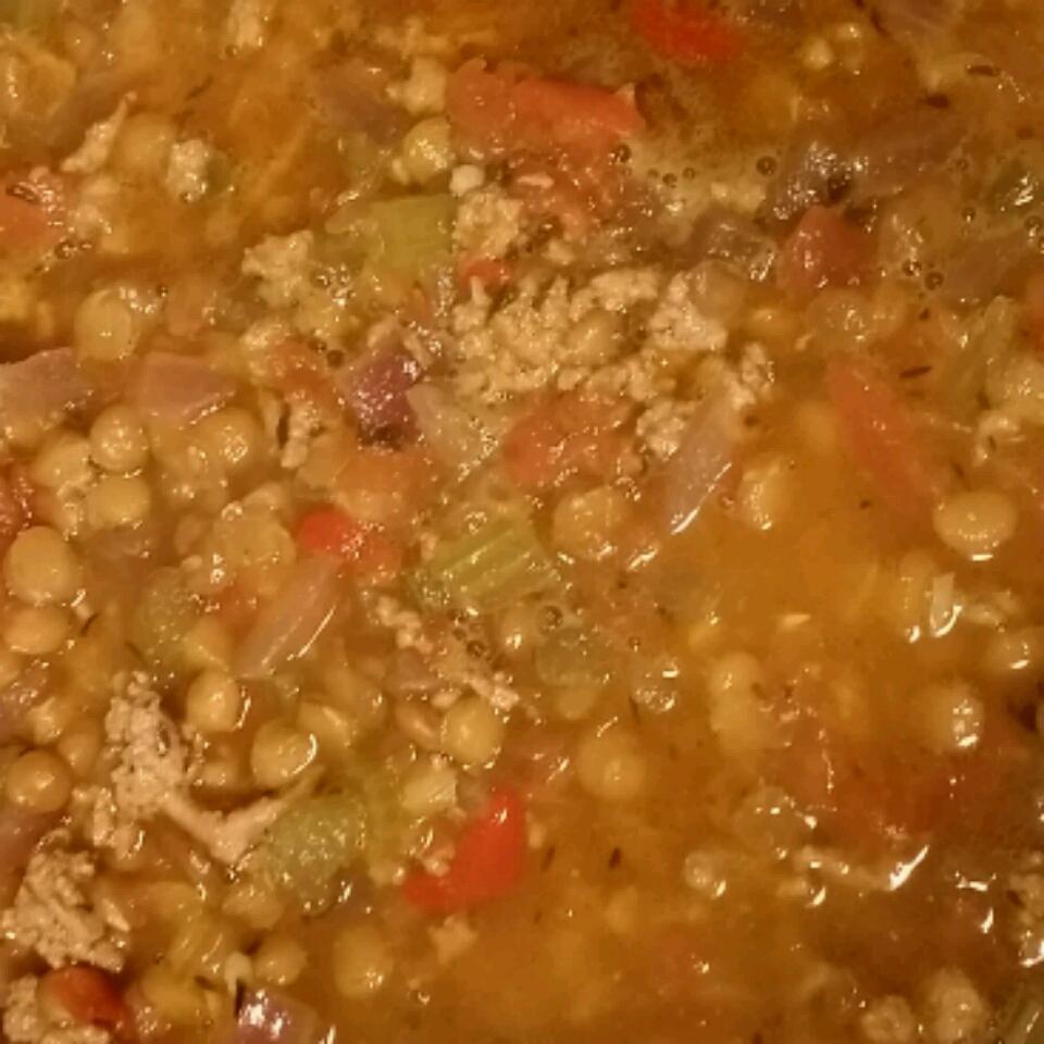Turkey-Lentil Chili chermez