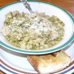 Peas and Macaroni Soup Rachel k.