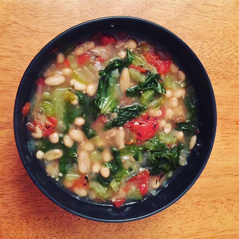 Dad's Escarole and Bean Soup seashworth
