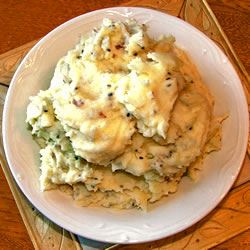 Garlic Mashed Potatoes Lesley