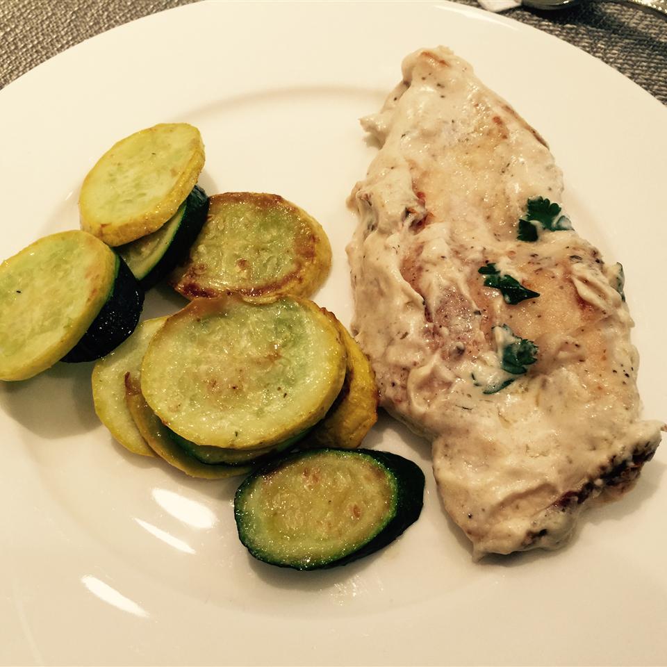 Chicken in Creamy Pan Sauce MrsDeki